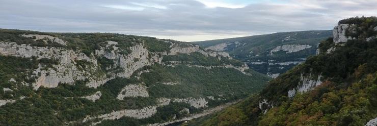 Paysage calcaire Franc-Comtois.